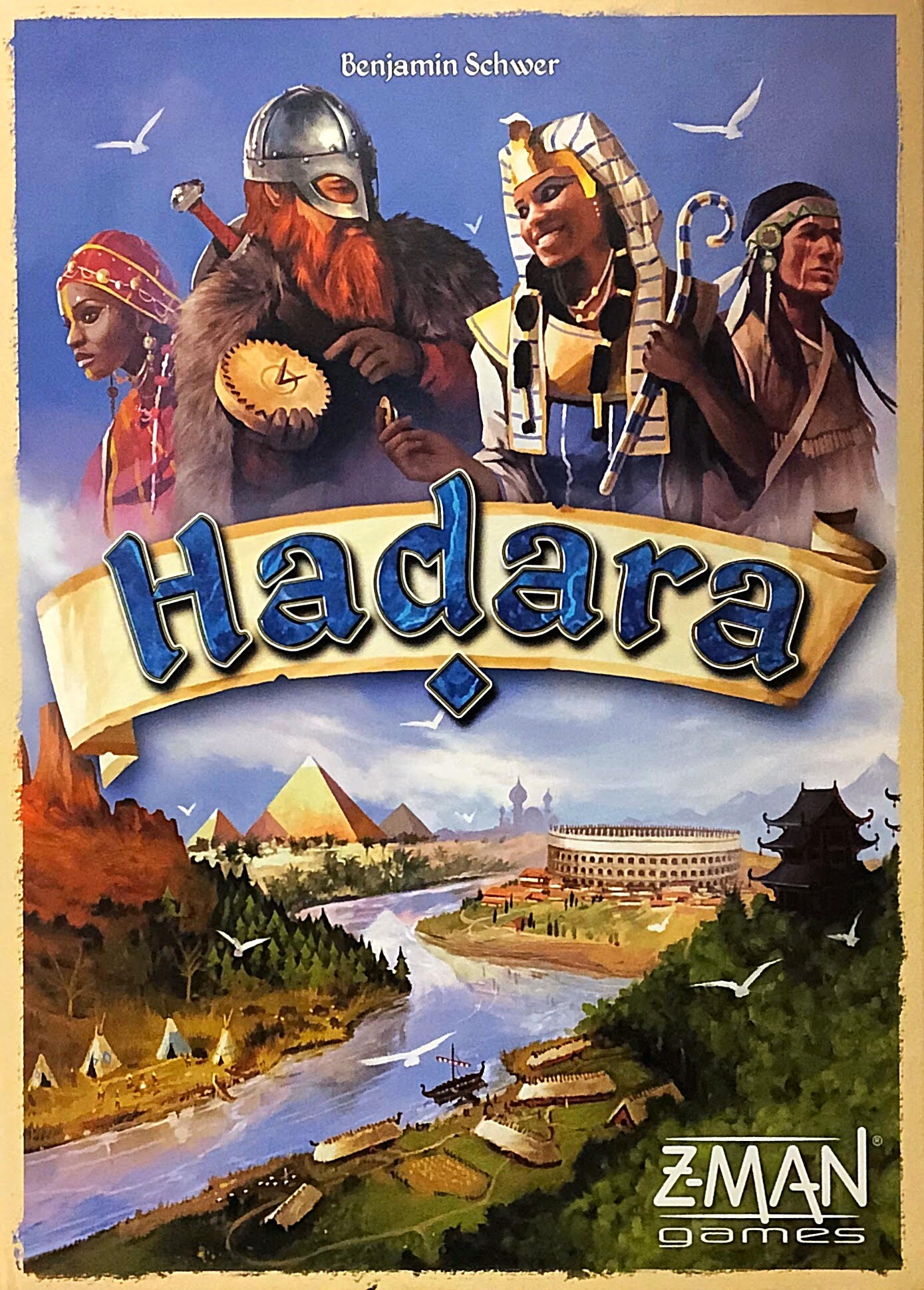 Hadara Board Game Overview