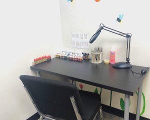 d&d miniature paint station