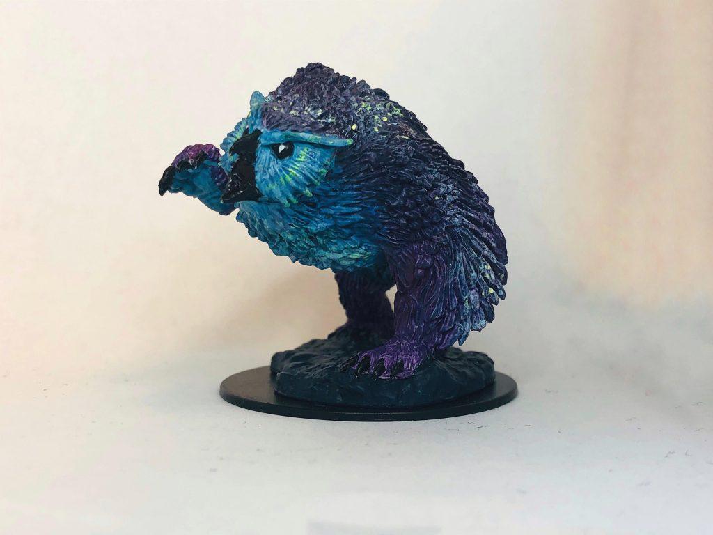 Owlbear d&d miniature