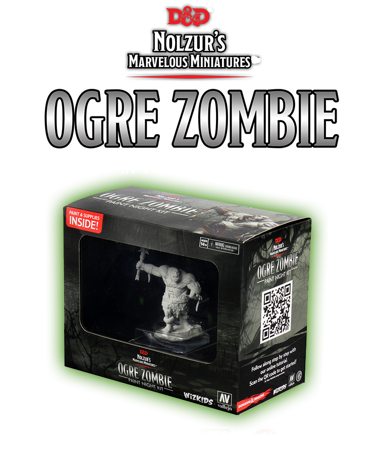Ogre Zombie Paint Night