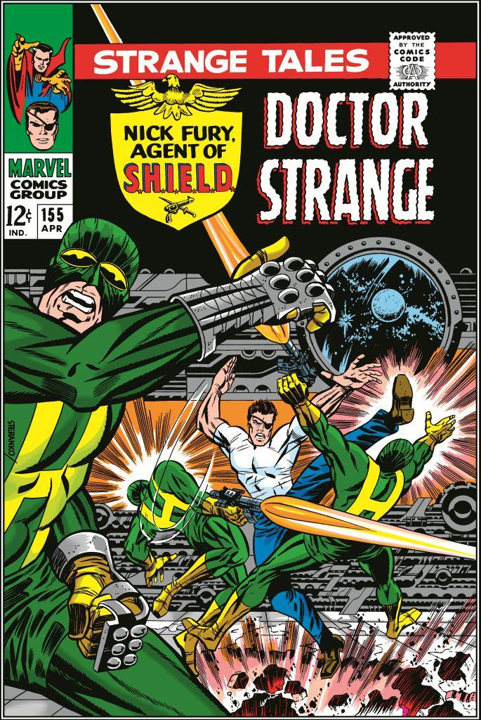 Dr Strange Comic