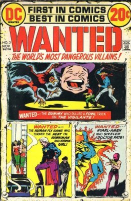 dc wanted comic