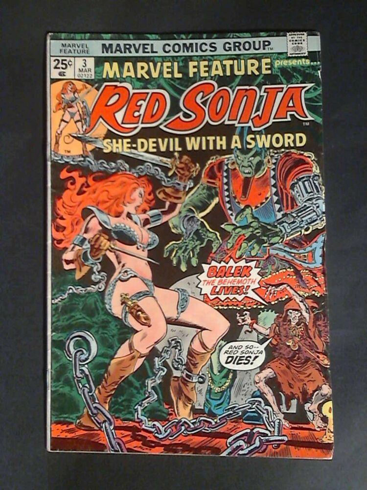 Red Sonja Comic